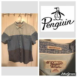 Men's Button Up Short Sleeve Shirt